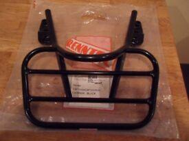 honda cbf motor cycle rear rack