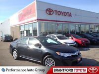2014 Toyota Camry LE Toyota Certified! $106 Bi-Weekly plus HST O