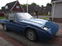 Reliant Scimitar SS1, 1.6 (Ford XR3 engine), 1987. Galvanised chassis