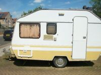 Touring Caravan Retro Bespoke Rear Door 1982 Sprite 3/5 berth & Tent 4/8 birth Conway Classic 1998
