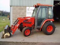 Used Kubota ST30 tractor with loader