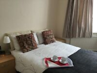 Furnished Double Room Free WiFi.Garden. Weekly Cleaner.