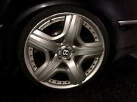 "Genuine ""21 Bentley Continental Mulliner BBS Split Rims x4"