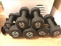 NEW Set of Dumbbells with Stand