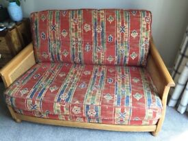 Ercol sofa and 2 arm chairs
