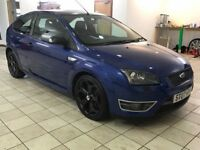 !!ST3!! 2007 FORD FOCUS ST / 225BHP / FORD BLUE / BLACK RECARO LEATHER / DRIVES EXCELLENT / MUST SEE