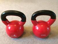 4 x Kettle Bells & 1 x Gym Ball