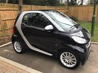 Smart Fortwo, 2011, 68,000 miles, Semi automatic, Black, 1 previous owner