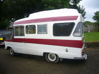 CA Bedford Dormobile and 4 Berth Touring Caravan