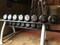 Dumbbells Pair of 6, 8, 10, 12, 14, 16, 18, 20 (Delivery Available)