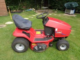 "Ride on lawnmower Toro 38"" cut 16hp model 16/38 hxl"