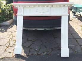 Old fire surround and insert.