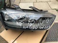 AUDI Q3 2014 GINUINE DRIVER RIGHT SIDE HEADLIGHT