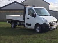 Renault master dropside truck