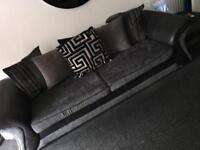 Dfs sofas and foot stool