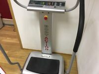 Body action professional vibrating excersise/toning machine less than 18 months old