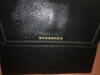 Burberry iPad leather patent case