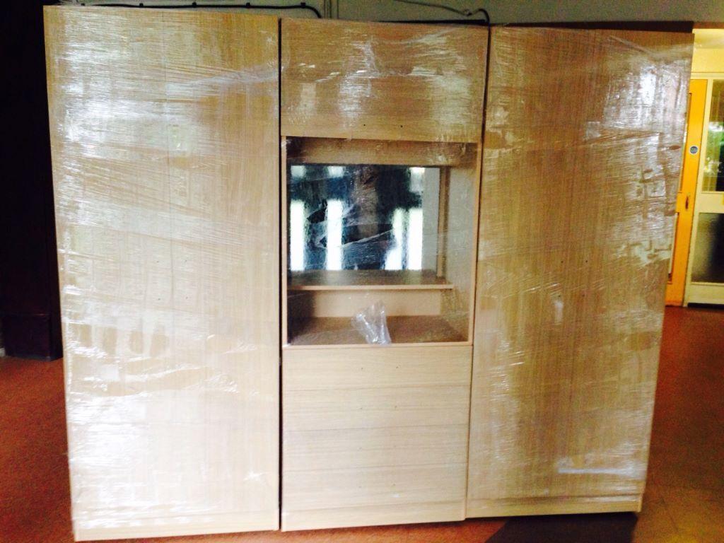 4 Door Assembled Wardrobe Dressing table Mirror chest of drawer. 7 DAY MONEY BACK GUARANTEE      4 Door Assembled Wardrobe Dressing