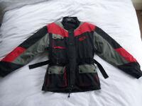 SIDI mens motorcycle textile jacket