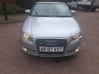 2007 AUDI A4 2.0 TDI S LINE CONVERTIBLE FULL LEATHER