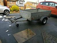4ft x 6ft Caddy trailer 1/2 ton