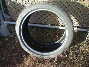 1 Michelin Pilot Sport A/S 3+ Tire * 255 35ZR18 94V * $40.00  .  M+S / All Season Tire ( used tire )