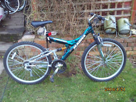 MAGNA CREATION DUEL SUSPENSION ONE OF MANY QUALITY BICYCLES FOR SALE