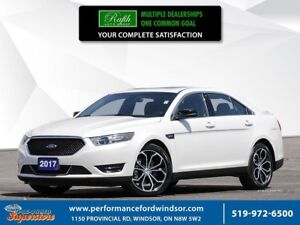 2017 Ford Taurus SHO ***CAP UNIT, AWD, NAV***