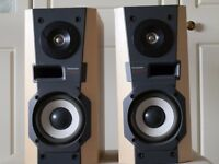 second hand speakers hardly used and surplus to requirement and in first class condition