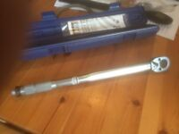 Torque Wrench Draper adjustable - new condition and unused