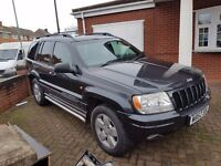 Jeep Grand Cherokee - Sold for spares or Repair (LPG tank installed)