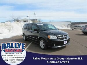 2015 Dodge Grand Caravan Crew! Back-Up! Alloy! Sunroof! Leather!