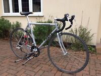 Trek 1200 Racing Bike, rides and looks great with old school looks and paint schem