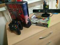 Xbox 360 Slim 250gb with Kinect and Accessories and Games £110 rrp.