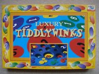 LUXURY TIDDLYWINKS BOARD GAME As new £1 Also other Childrens Books, Ladybird, Horrible Histories