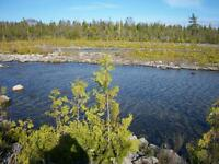 1 acre lot 100' on inlet of Lake Huron 22 km S of Tobermory