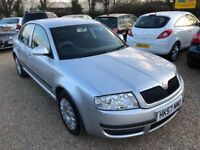 2008 SKODA SUPERB 1.9 TDI PD CLASSIC SILVER SALOON ONE OWNER