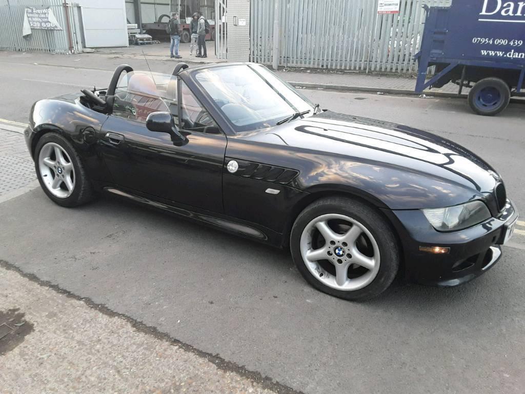 Bmw Z3 2.2i, 2002, black, convertible roadster, very good runner
