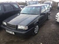 VOLVO ESTATE 850 MODEL LONG MOT LOVELY SMOOTH DRIVING CAR IN GREY CLOTH TRIM FUTURE CLASSIC RARE