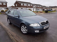 2006 SKODA OCTAVIA ELEGANCE,2.0TDI,6 SPEED MANUAL,1 FORMER KEEPER,2 KEYS,07512555462