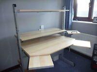 Ikea Jerker Computer desk/gaming station