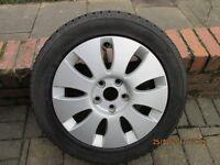 Set of 4, Audi, VW, Skoda, Seat, 16 inch. 5 x 112 Alloy Wheels