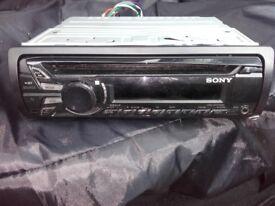 car sony cd player