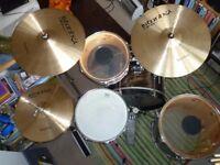 Premier Olympic vintage drum kit - Mahogany Duroplastic