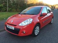 Renault Clio 1.5 dCi eco2 Expression 5dr. £30 YEARLY TAX + 1 LADY OWNER 2010