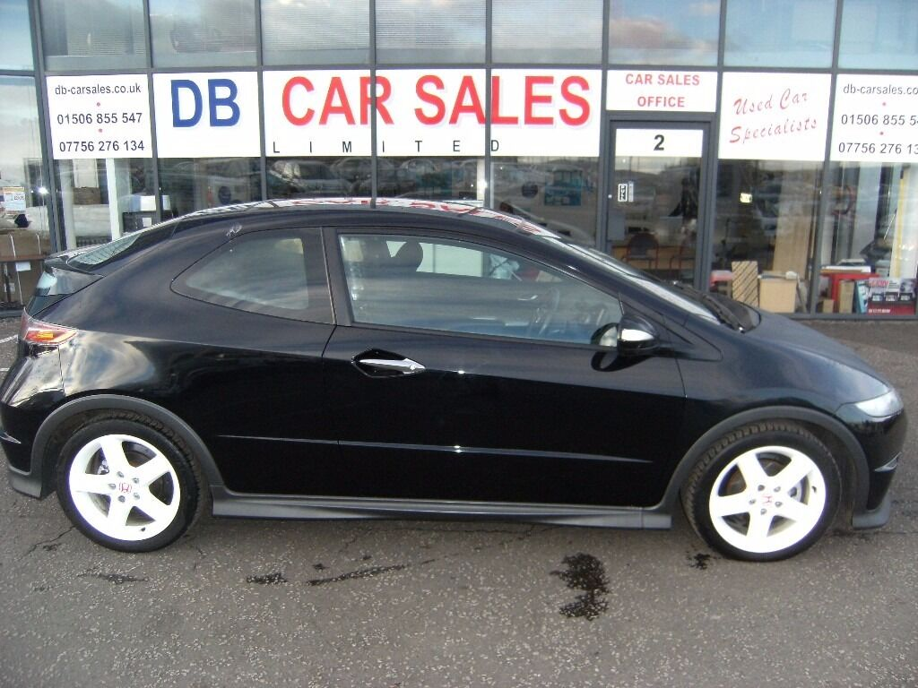 DIESEL!! 2008 58 HONDA CIVIC 2.2 I-CTDI TYPE-S GT 3d 139 BHP ****GUARANTEED FINANCE *** P/EX WELCOME