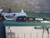 TITAN ELECTRIC CHAIN SAW MODEL TTB355CHN