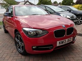 BMW 118i AUTO Petrol, BMW Full Service History , 3 Owners, Lady owner, Low milage, New Tyres
