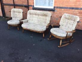 Cottage suite ercol style