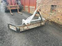 Tractor three point linkage Ritchie reversible slurry yard scraper